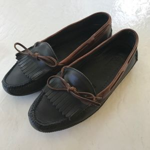 Cole Haan Country Kiltie Driving Moccasins Laced